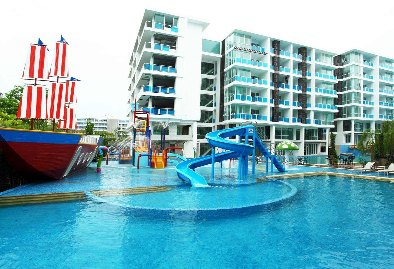 Big Luxury Penthouse 2bedroom Water Park Beach