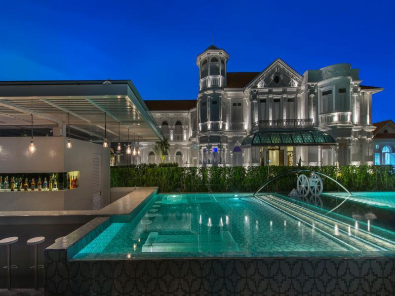 Cheap Mansion eight rooms - macalister mansion, penang, malaysia overview