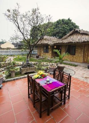 %name Tam coc palm house with garden view Ninh Binh