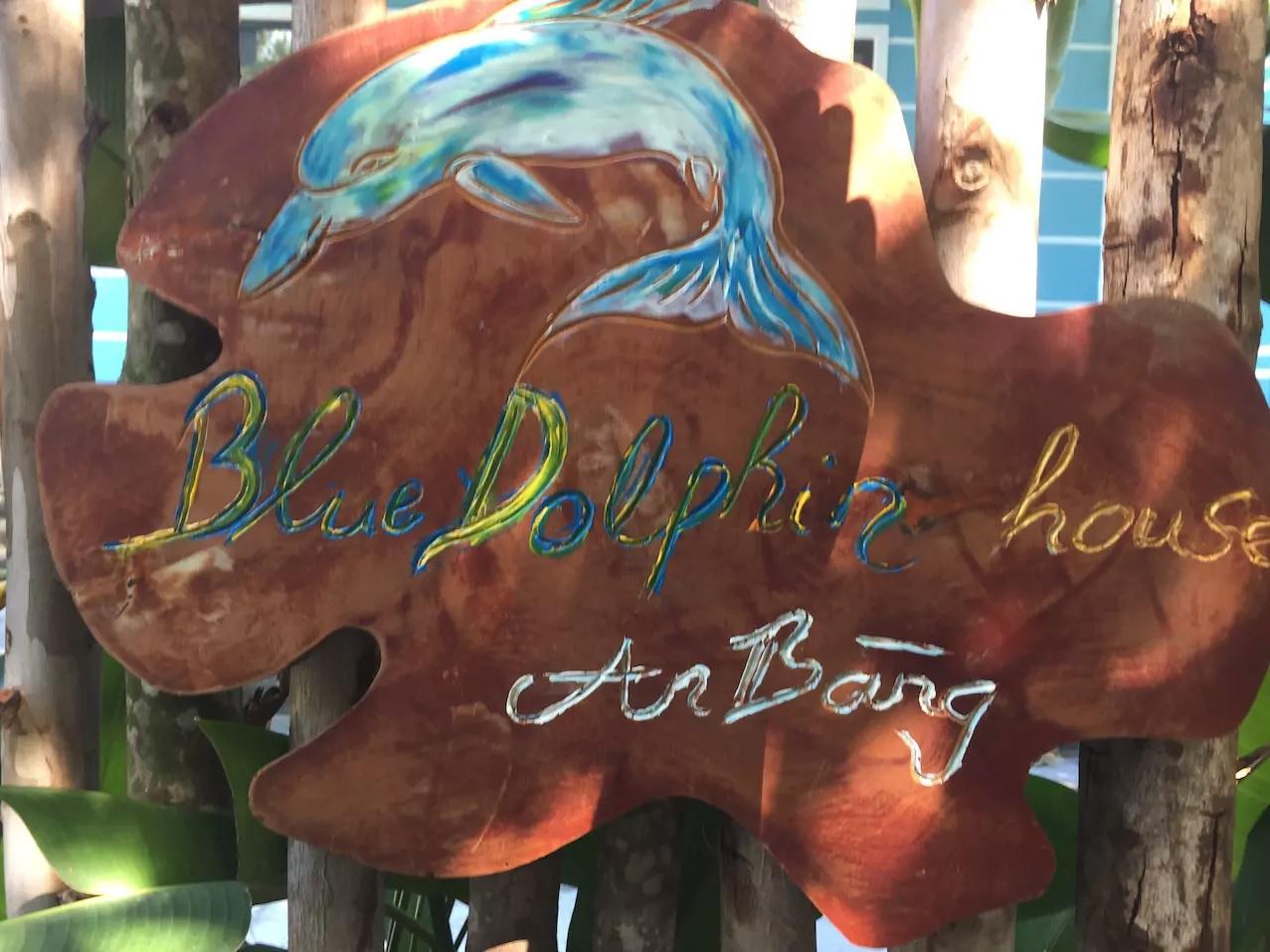 The Blue Dolphin House