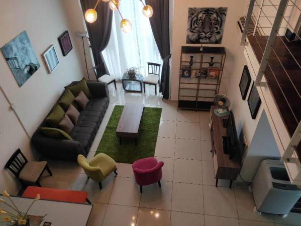 THE PENTHOUSE LOFT HOME IN THE CITY for 15 PAXs Kuala Lumpur