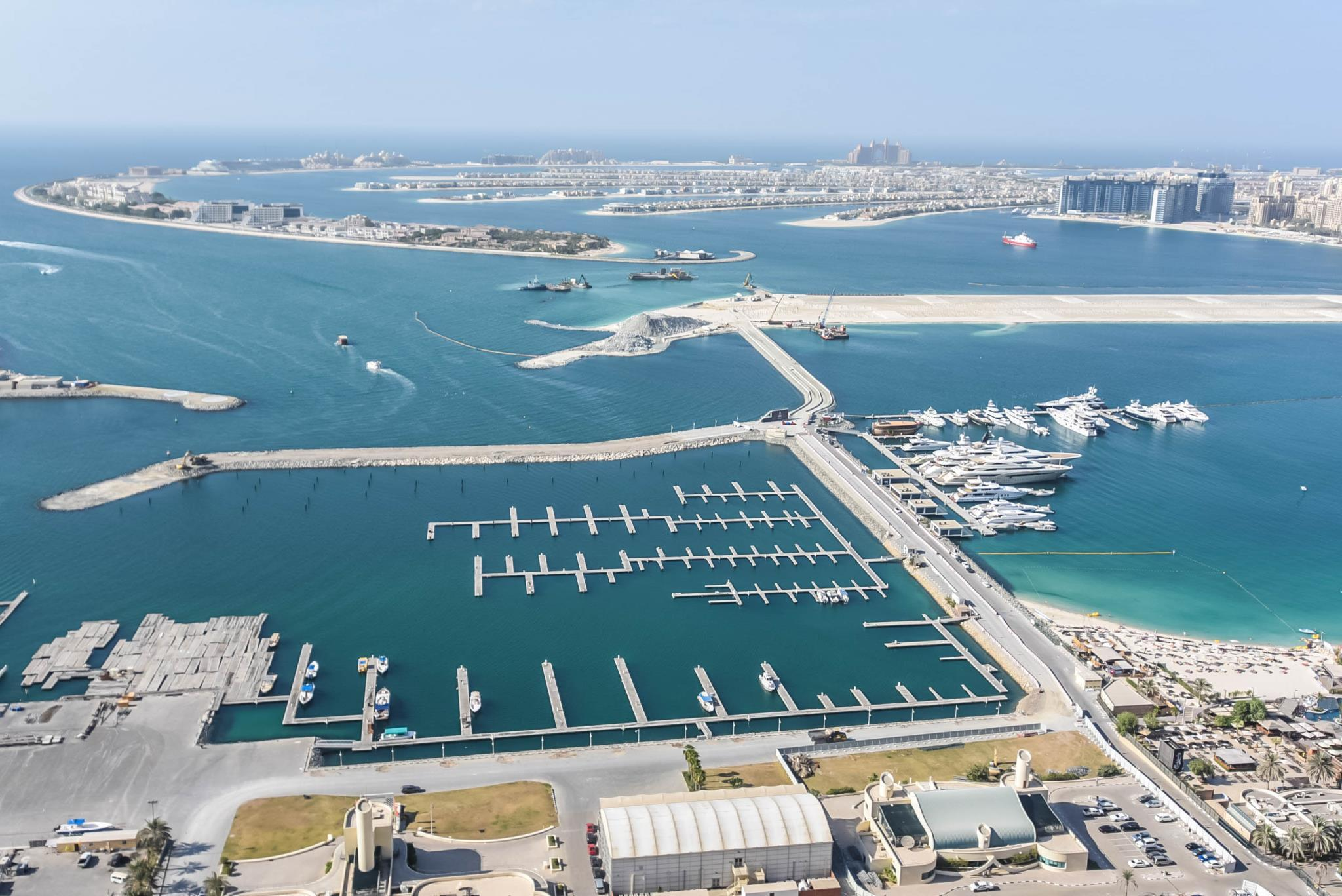Princess Tower Full Sea & Palm View