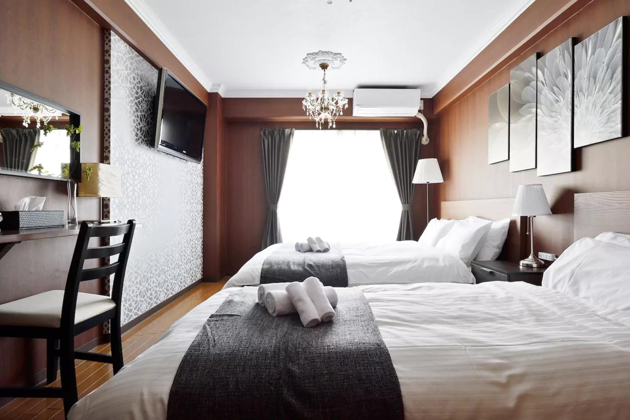 LuggageDepositOK  Shin Osaka Hotel Style Room BR