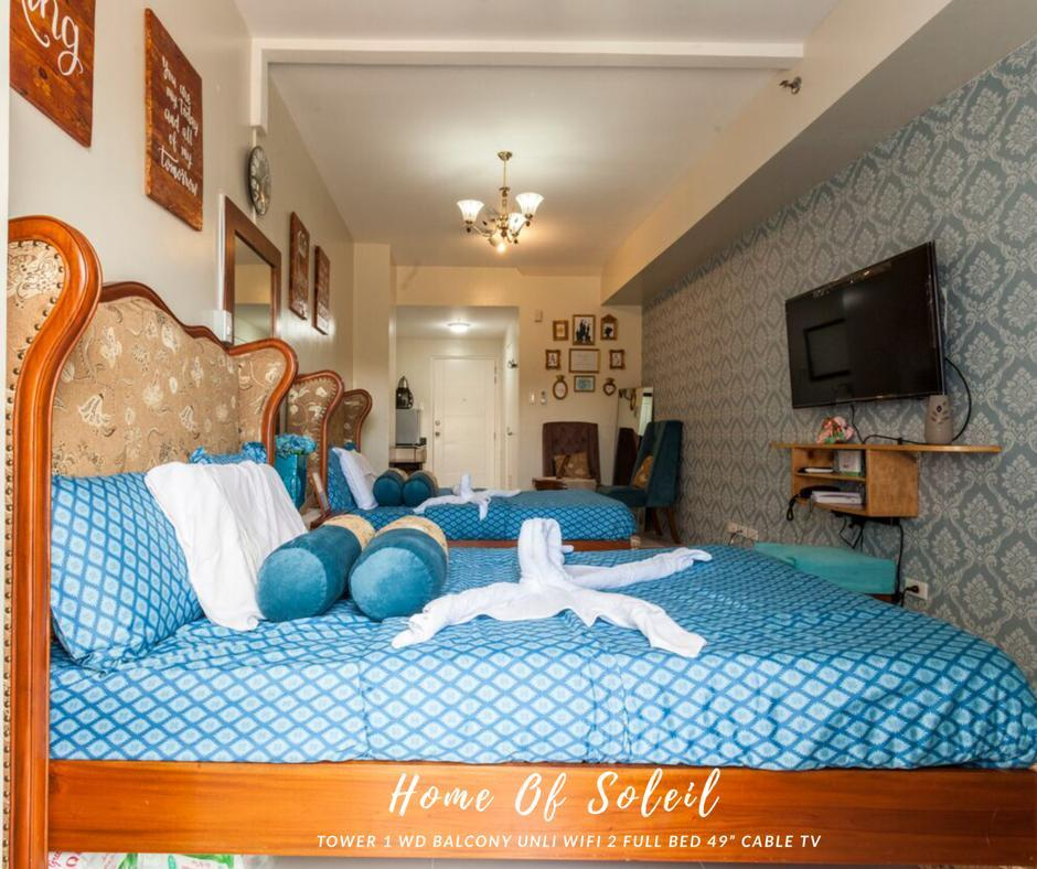 Home Of Soleil at SM Wind Tagaytay