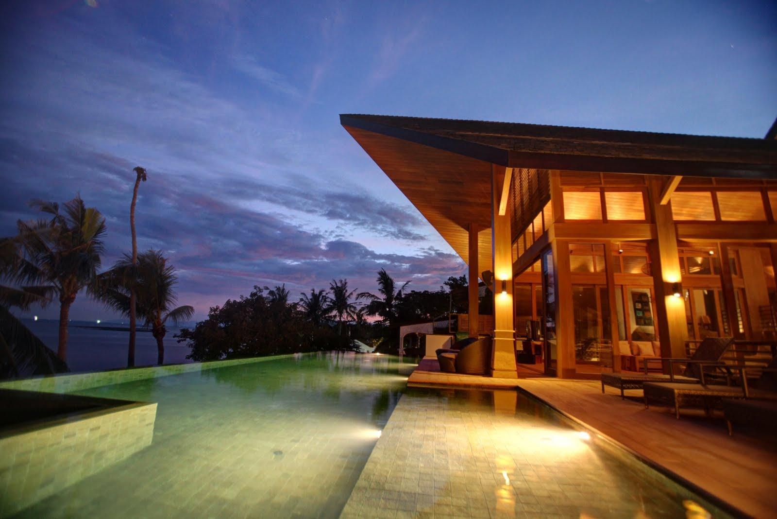 BHT   5 Bedroom Beachfront Villa With Private Pool