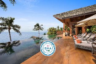 [ラマイ]ヴィラ(1000m2)| 5ベッドルーム/6バスルーム Baan Hinta Luxury Beachfront Haven, Infinity Pool