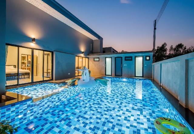 4 ห้องนอน 3 ห้องน้ำส่วนตัว ขนาด 100 ตร.ม. – ทับใต้ – Baan Modern Pool Villa Hua Hin