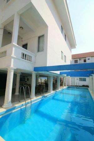 Serviced apartment swimming pool and balcony Ho Chi Minh City