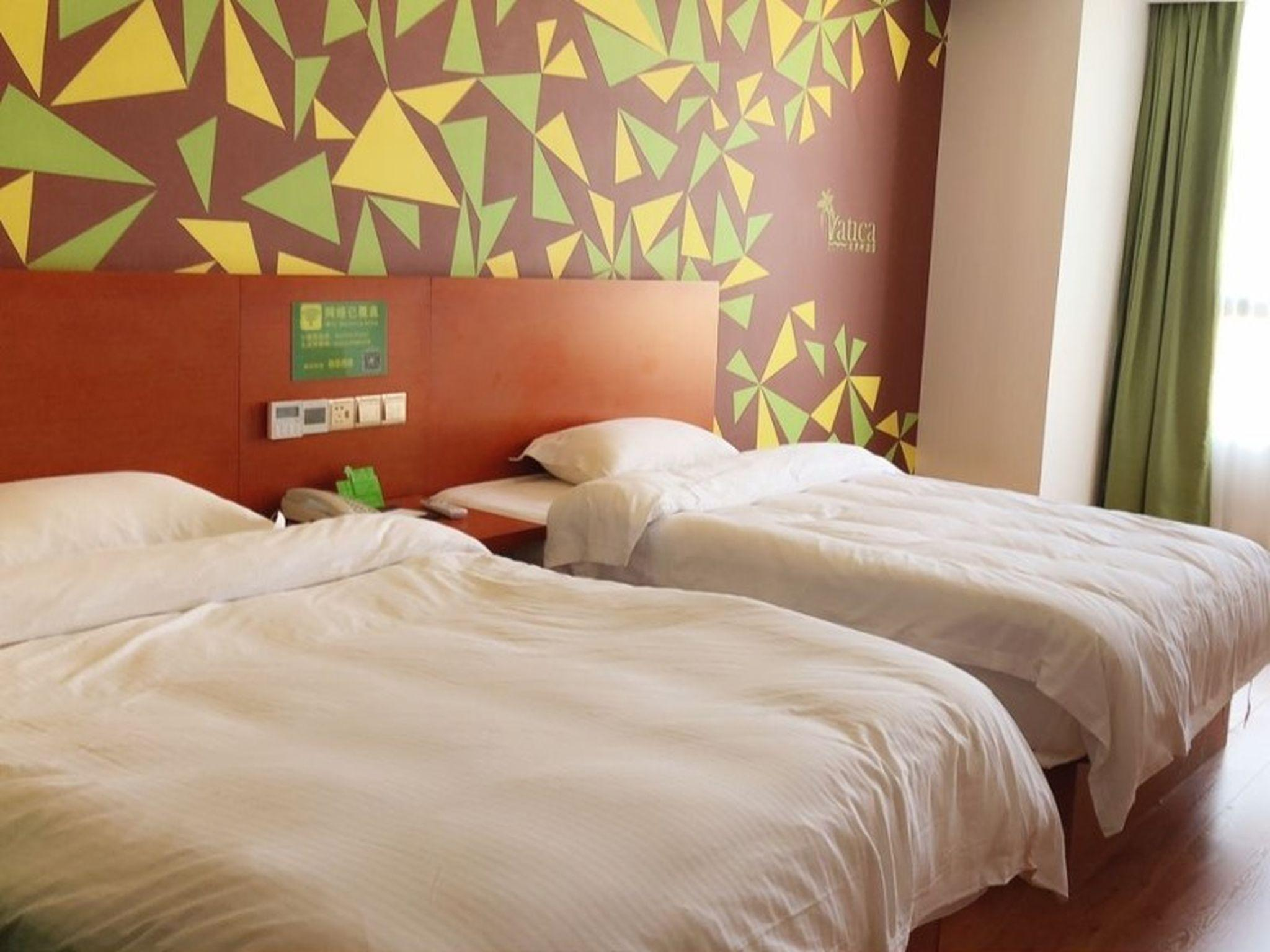 Vatica Hotel Fuyang Linquan Tenghui International City Branch