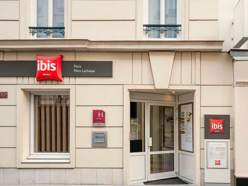 Hotel Ibis Paris Pere Lachaise