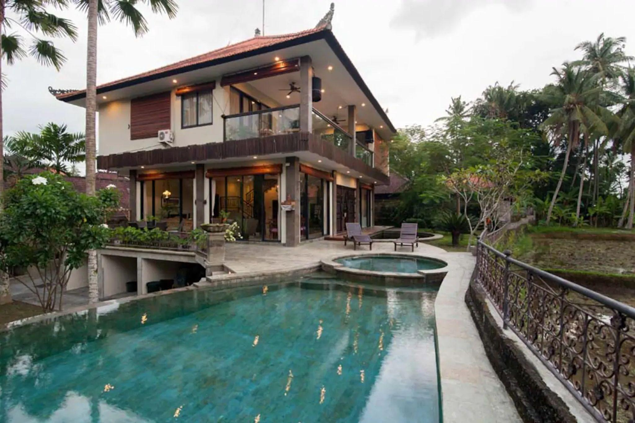 3 Br LUXURY House W  Countryside Ambience In Ubud