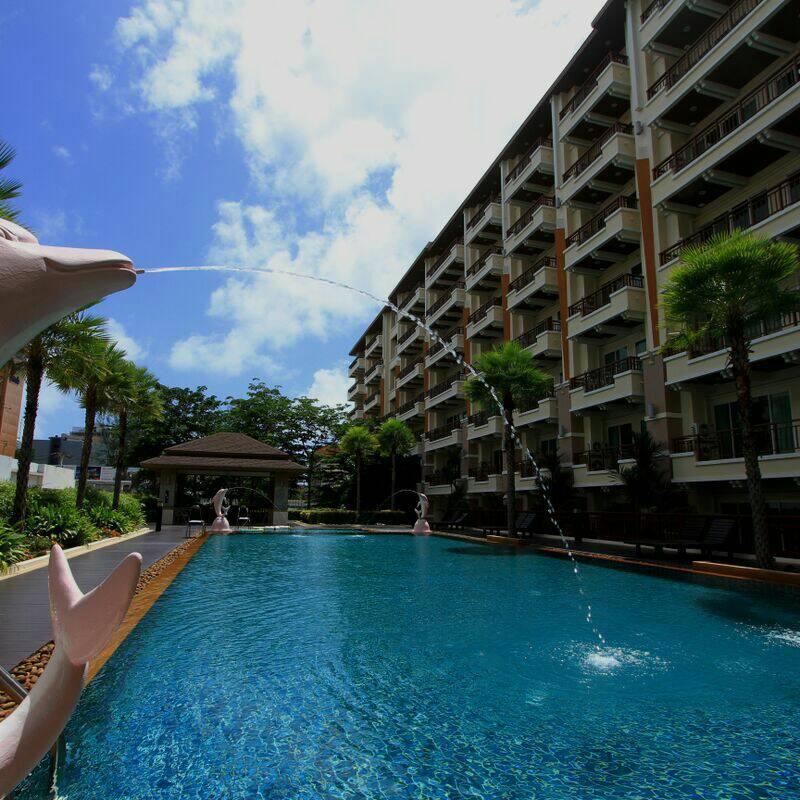 Phuket Patong Beach 2 Bedroom Pool+Gym+Sauna