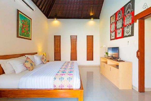 1 BR Private Pool Villa Close To Beach Kubal