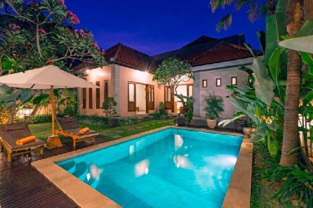 1 BR Private Pool Villa Close To Beach Kubal