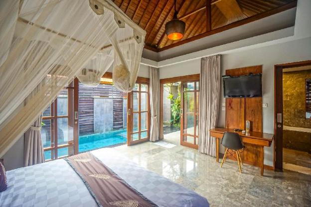 1 Bedroom Private Pool Villa Close to Ubud Center