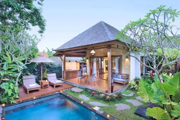 Graha Sandat Private Pool in Ubud Center