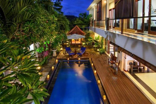 4 BDR Villa Pool View in Seminyak