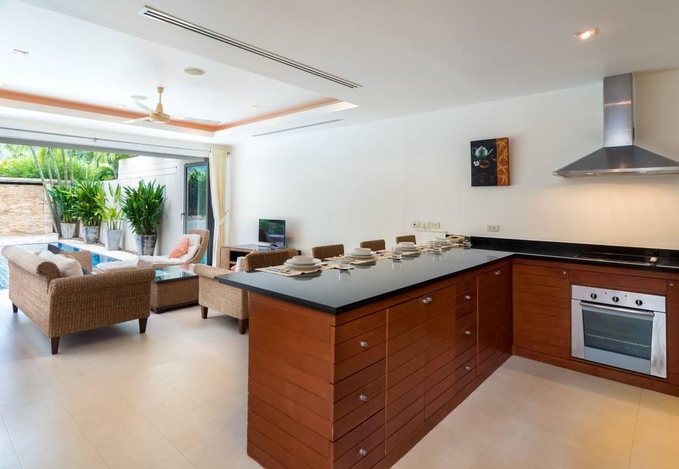 Modern 2 BDR Private Pool Villa @ Bangtao Discount