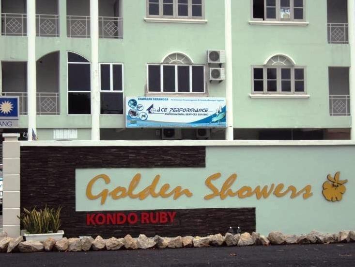 3 Rooms Golden Shower Apartment