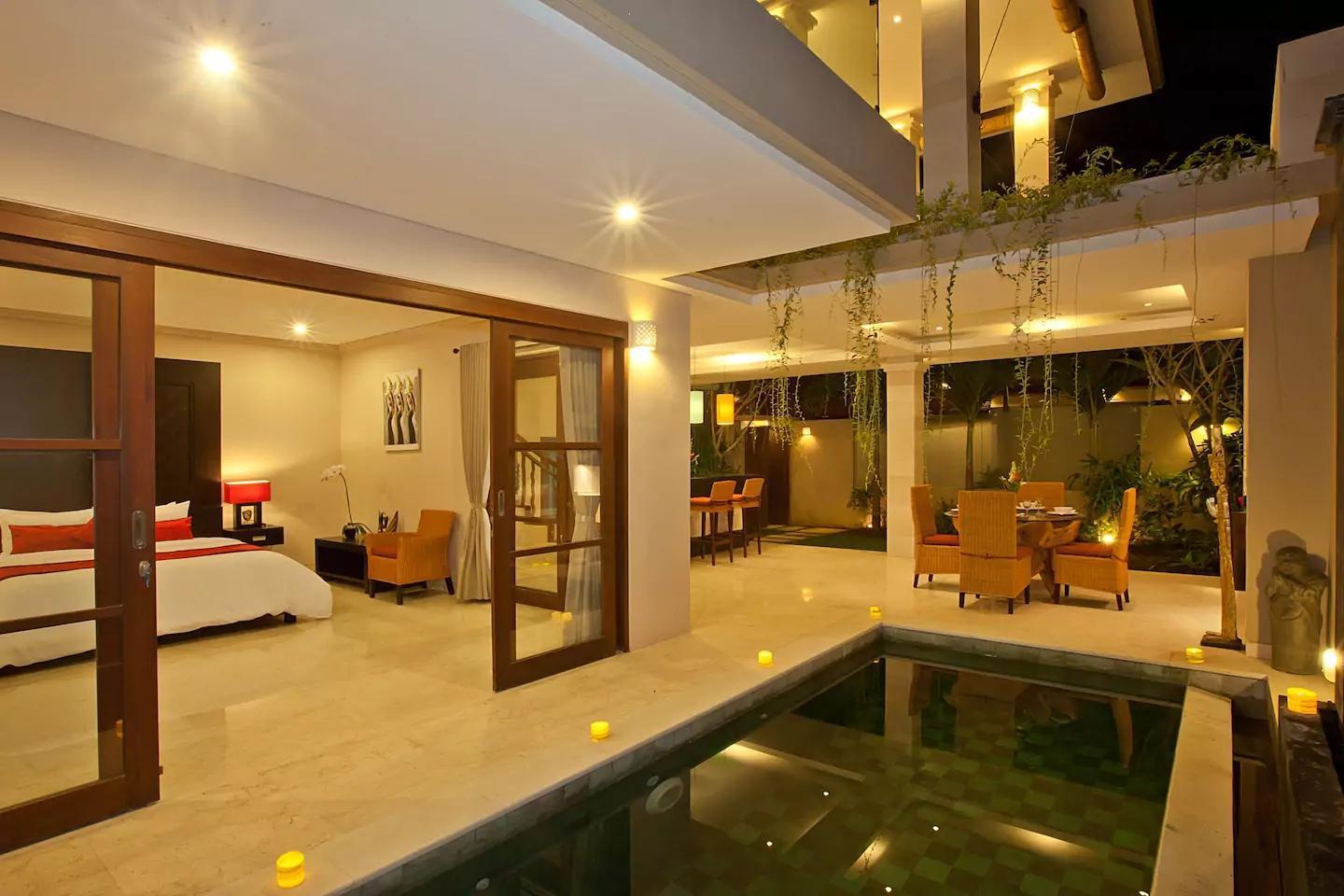 2BR Villa Harmony Near Beach at Seminyak