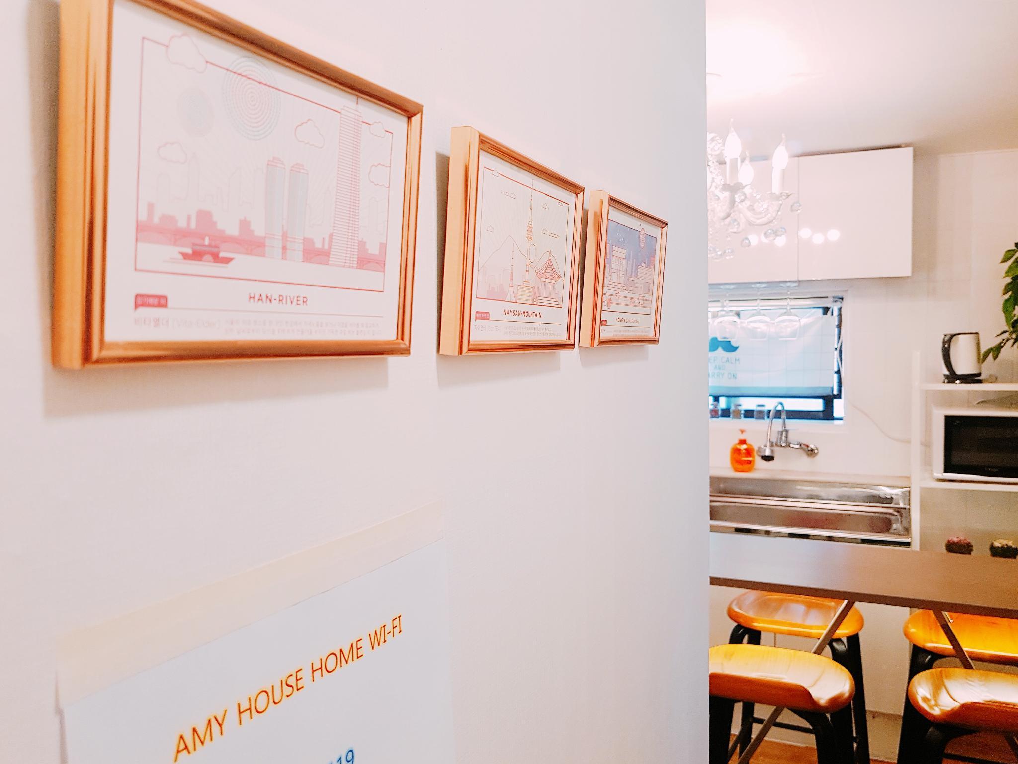 2 Hongdae Amy House  2 Rooms