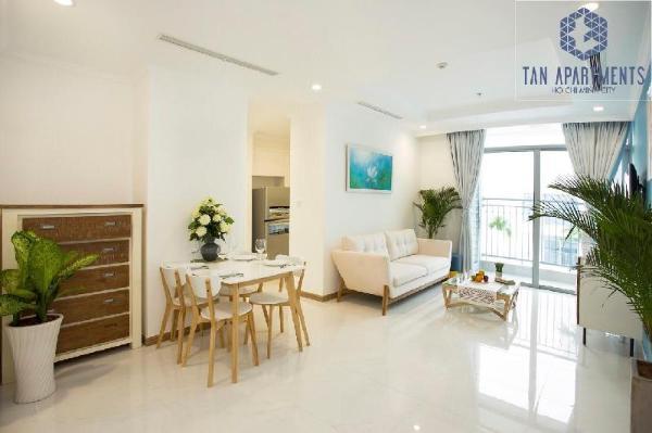 YUSTAY 24907- 2BR Apartment Vinhomes Central Park Ho Chi Minh City
