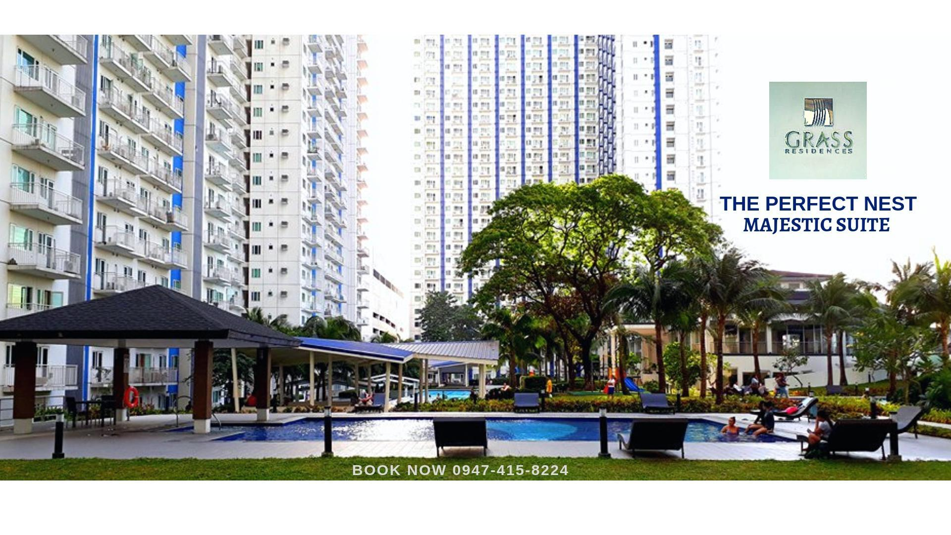 NEW 1BR SUITE SM NORTH TOWER 4   GRASS RESIDENCES