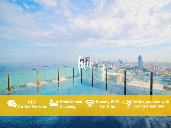 [hiii]PostModern|Rooftop Boundless Pool-UTP003 Pattaya