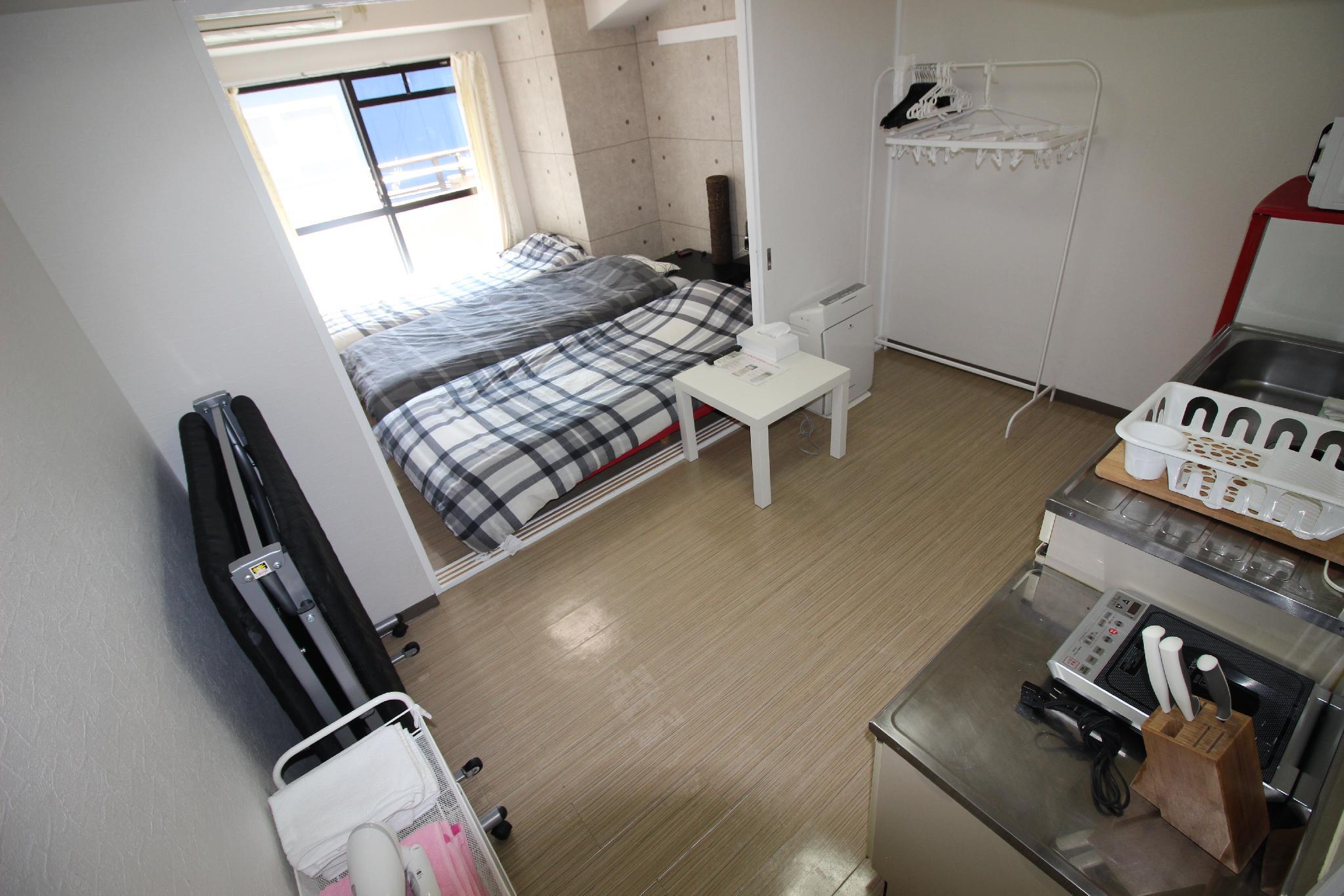 BB 1 Bedroom Apt In Osaka 302 Paru