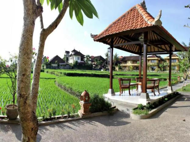 Super Deluxe room Rice Field View at Ubud Center