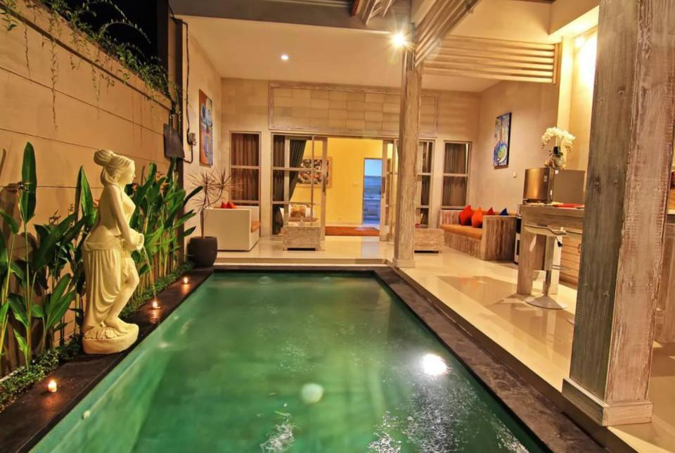 168 Suite Room With Ktchn And Private Pool In Ubud