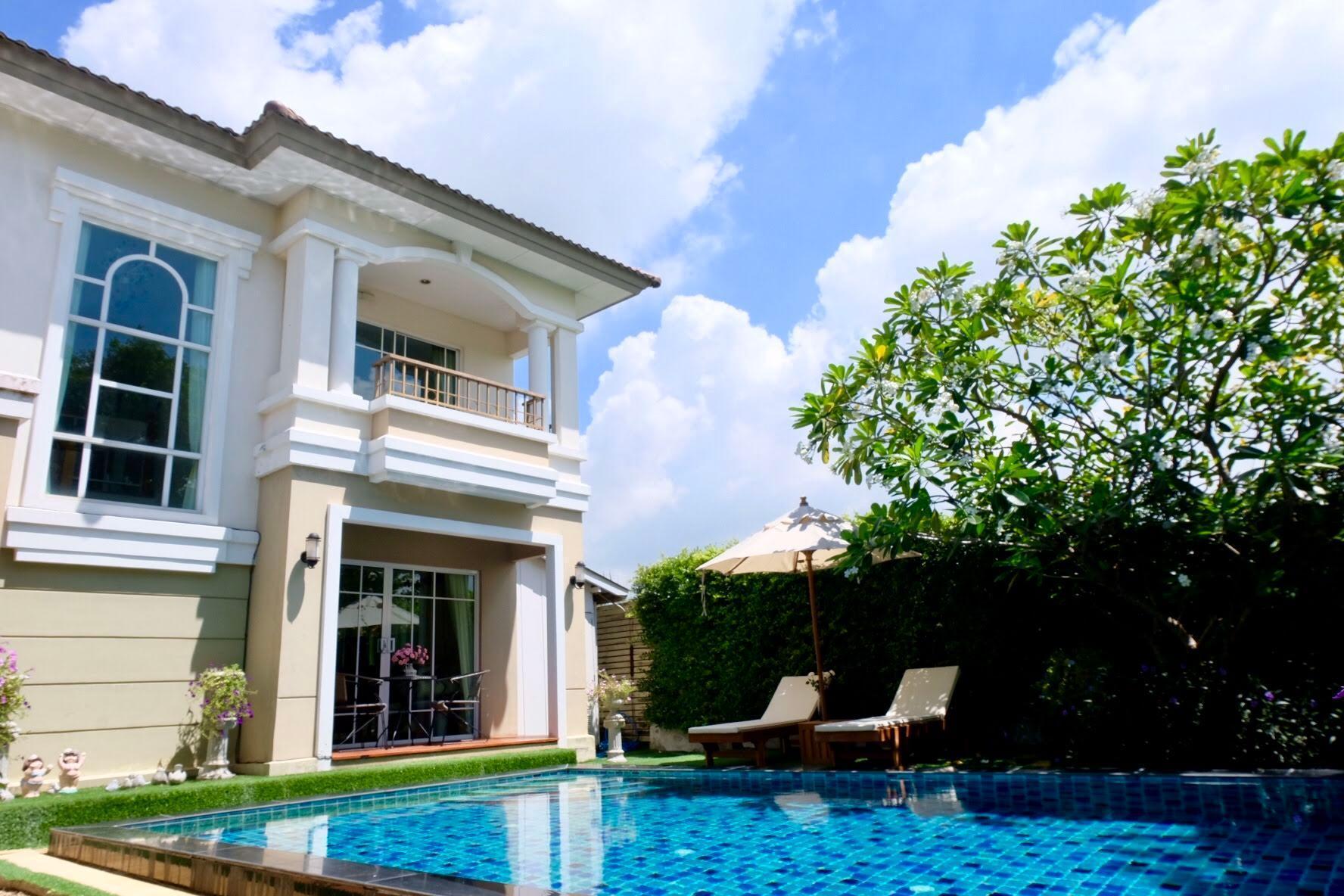 15mins Suvarnabhumi Private Pool Villa 3 bedrooms 15mins Suvarnabhumi Private Pool Villa 3 bedrooms