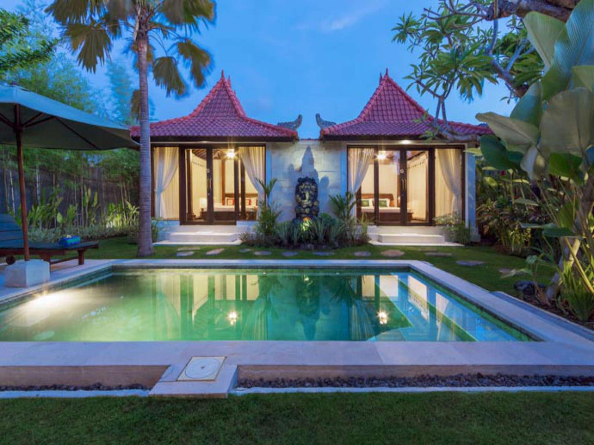 3BDR Private Pool Villa In Canggu