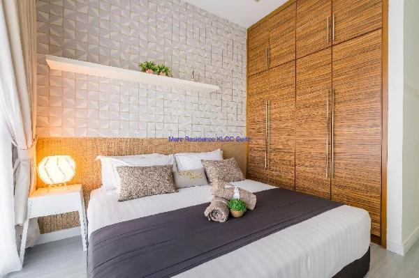KLCC Suites, free wifi, king size bed, city view. Kuala Lumpur