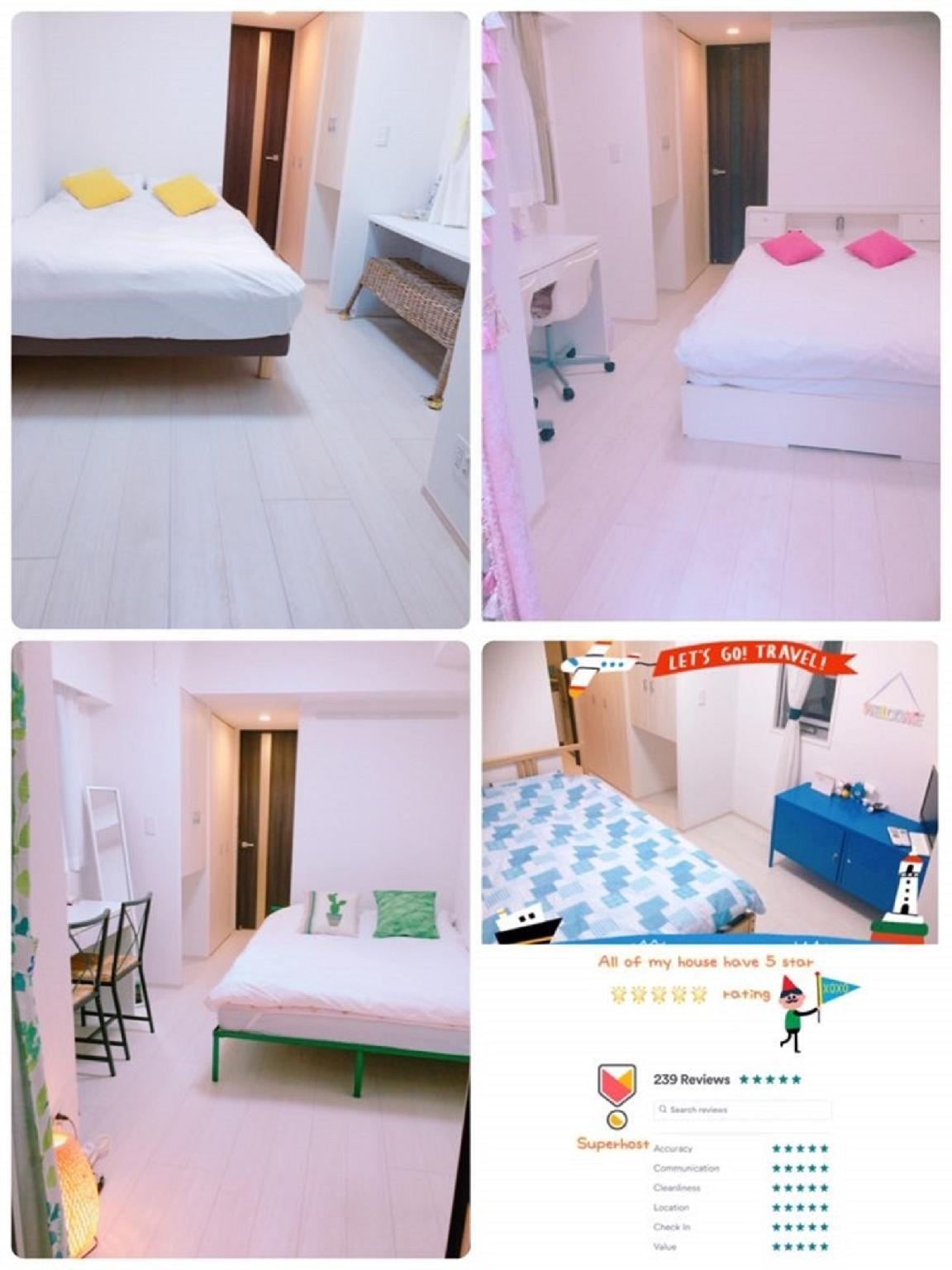 1. Lovely Stay Yuni + Free 2wifi  House And Pocket