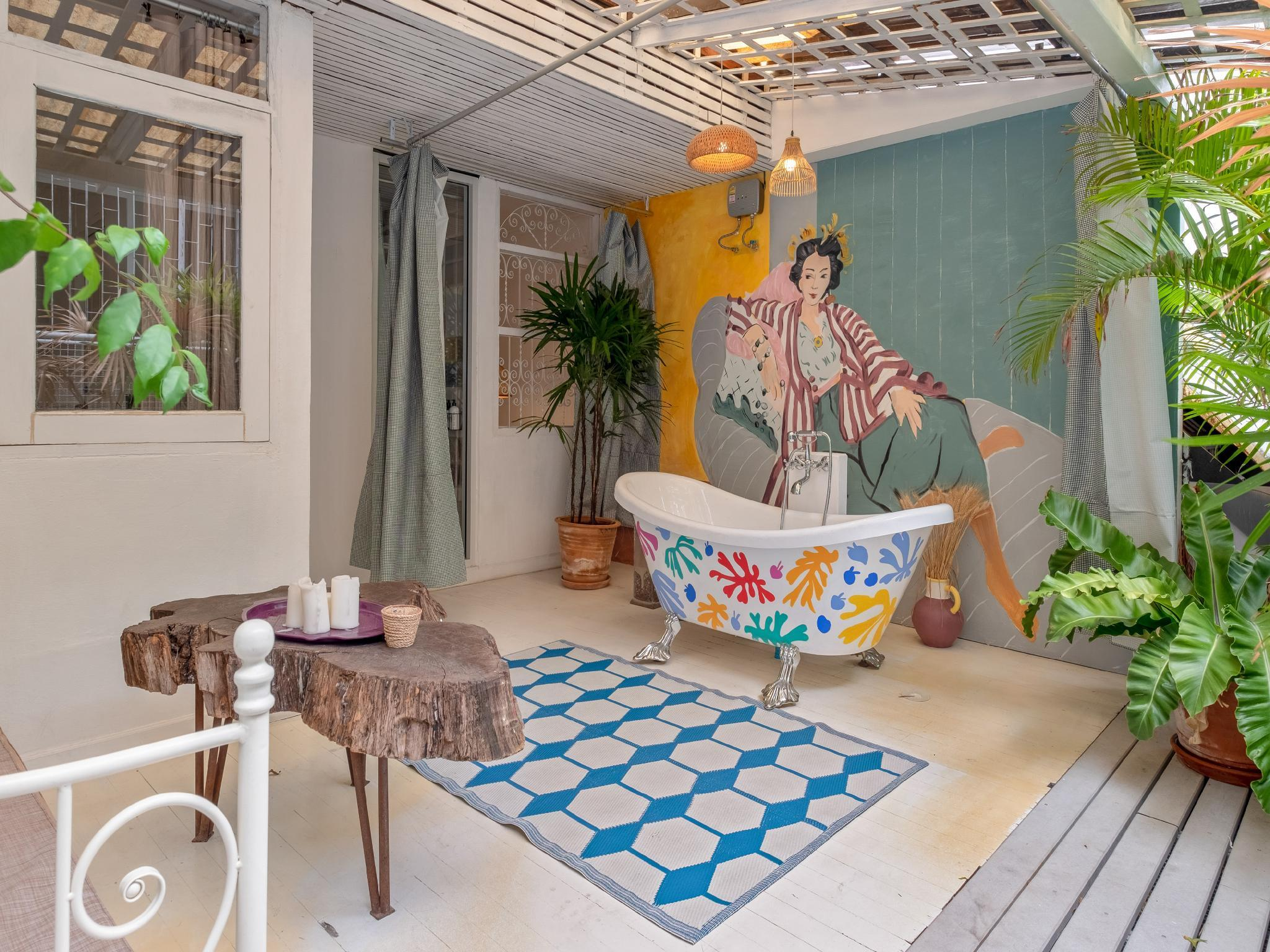 Boho Chic 3 Bedroom In The Center Of BKK