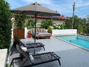 [チャウエン]一軒家(90m2)| 2ベッドルーム/2バスルーム KHAMIN villa, 2 beds, 6 guests, 5' from the beach