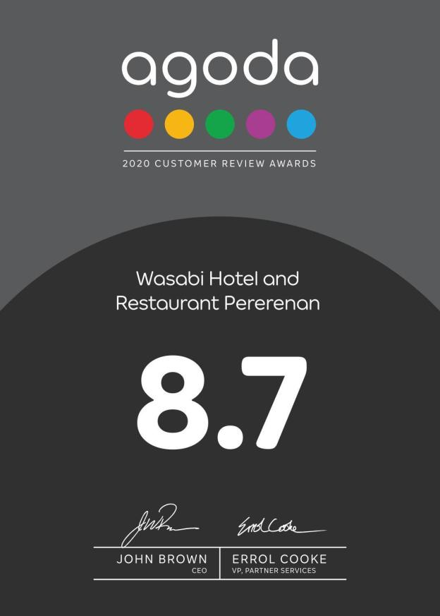 Wasabi Hotel and Restaurant Pererenan