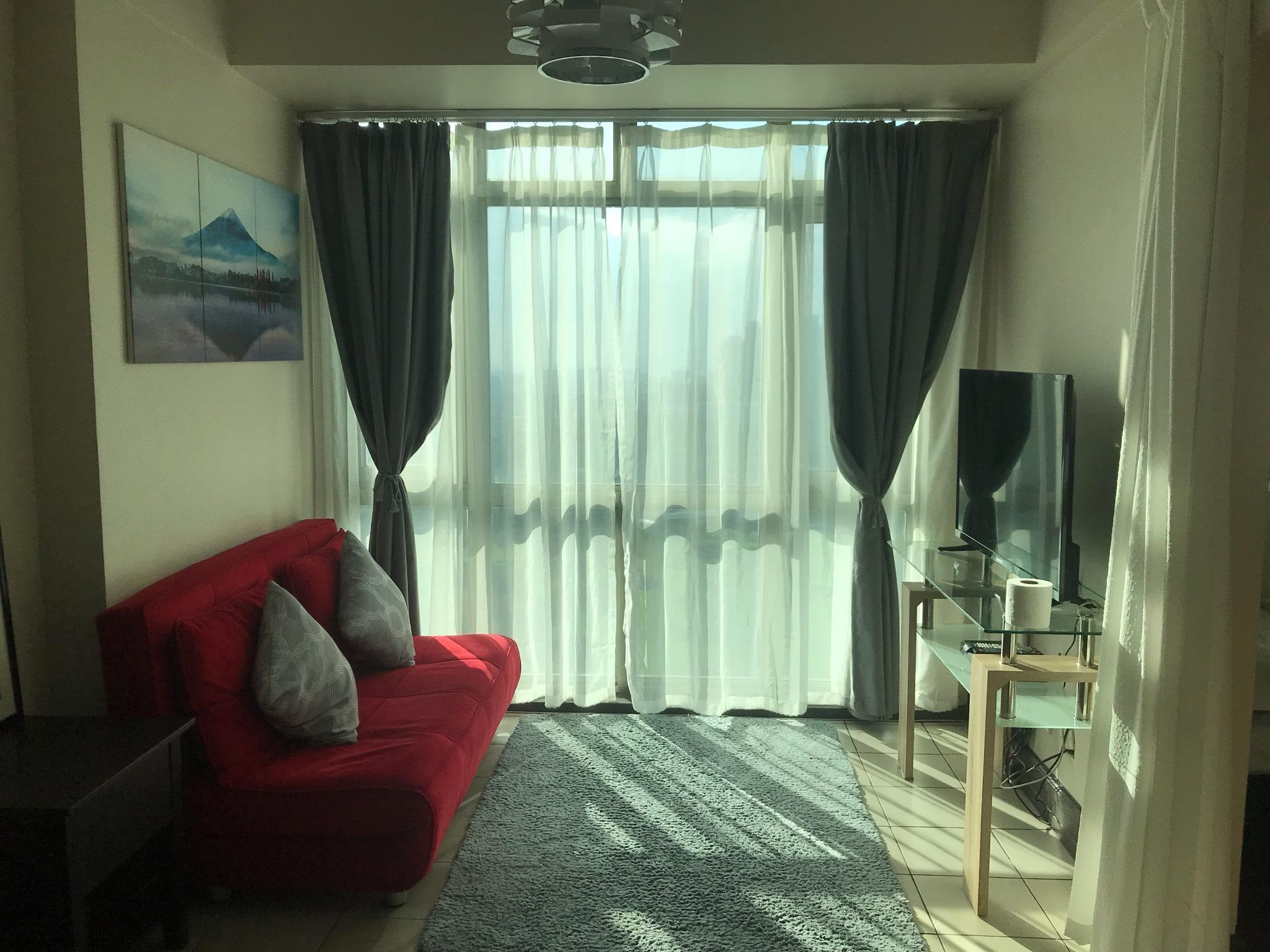 1BR golf view apartment