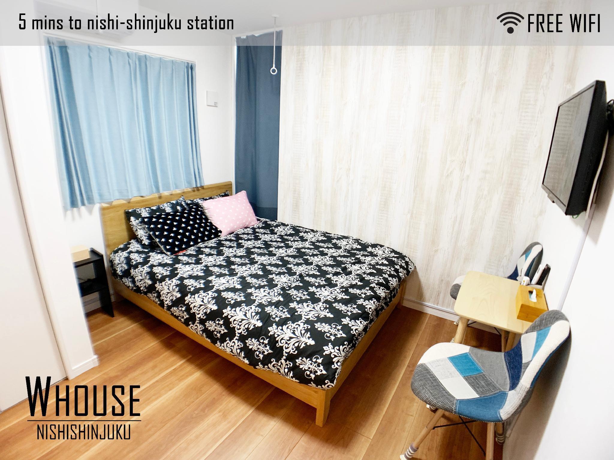 Tokyo White Villa @ Shinjuku W HOUSE