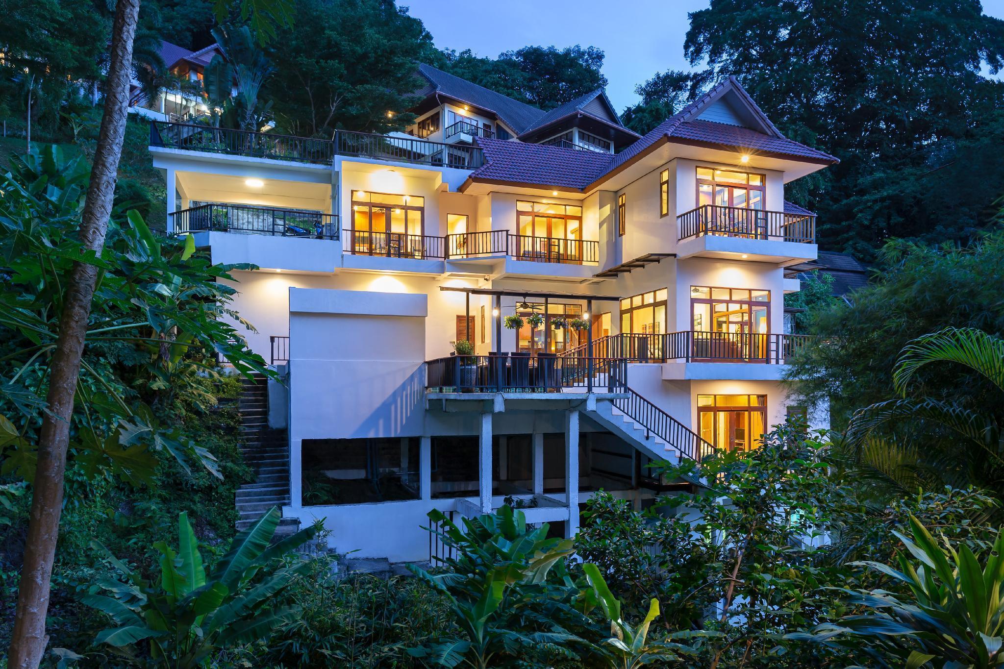 SEAVIEW Patong Pool Estate,  8 Bedrooms, Playroom วิลลา 8 ห้องนอน 8 ห้องน้ำส่วนตัว ขนาด 400 ตร.ม. – ป่าตอง