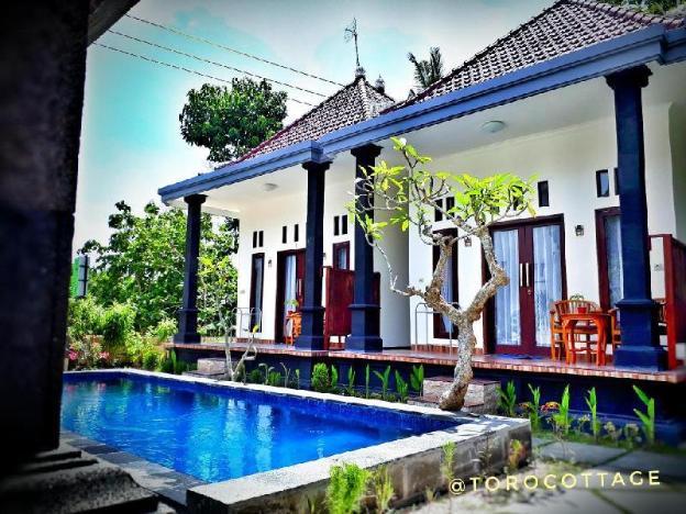 Toro Cottage Pool View