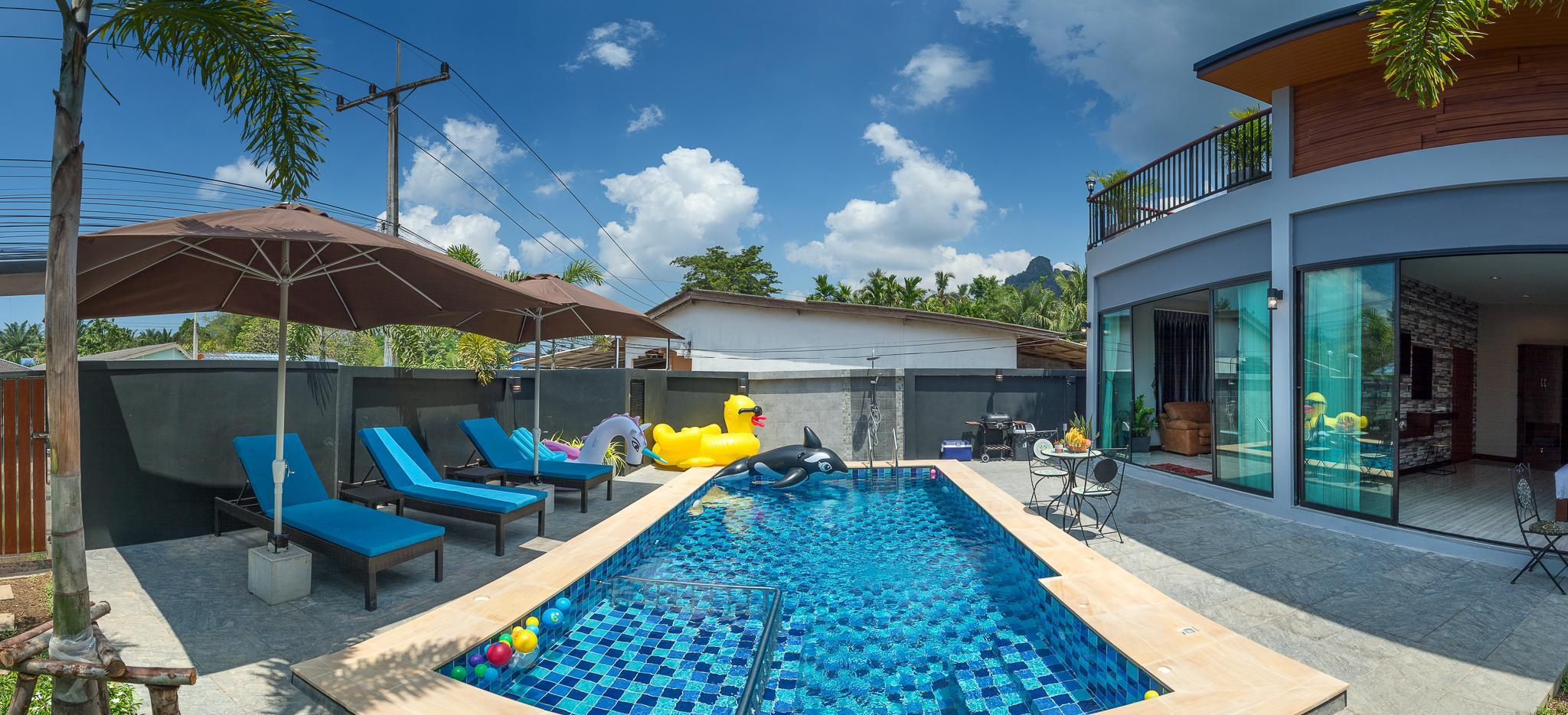 De Nathai Private Pool Villa วิลลา 3 ห้องนอน 3 ห้องน้ำส่วนตัว ขนาด 220 ตร.ม. – อ่าวนาง