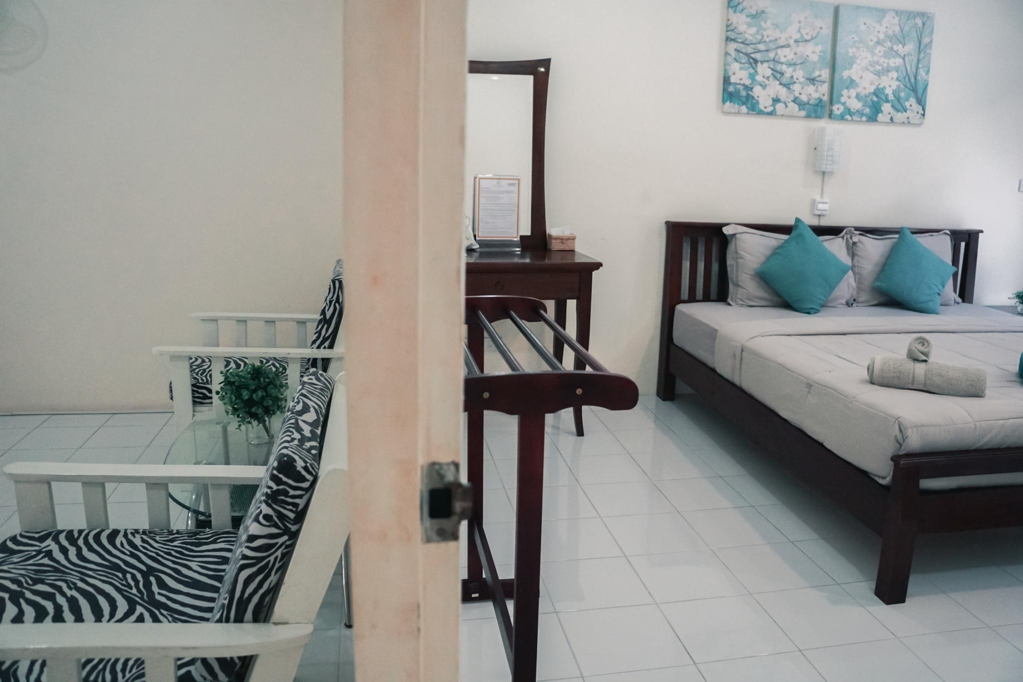 #2 Deluxe King Apartment, FullBreakfast อพาร์ตเมนต์ 1 ห้องนอน 1 ห้องน้ำส่วนตัว ขนาด 50 ตร.ม. – หาดคลองดาว/หาดพระแอ