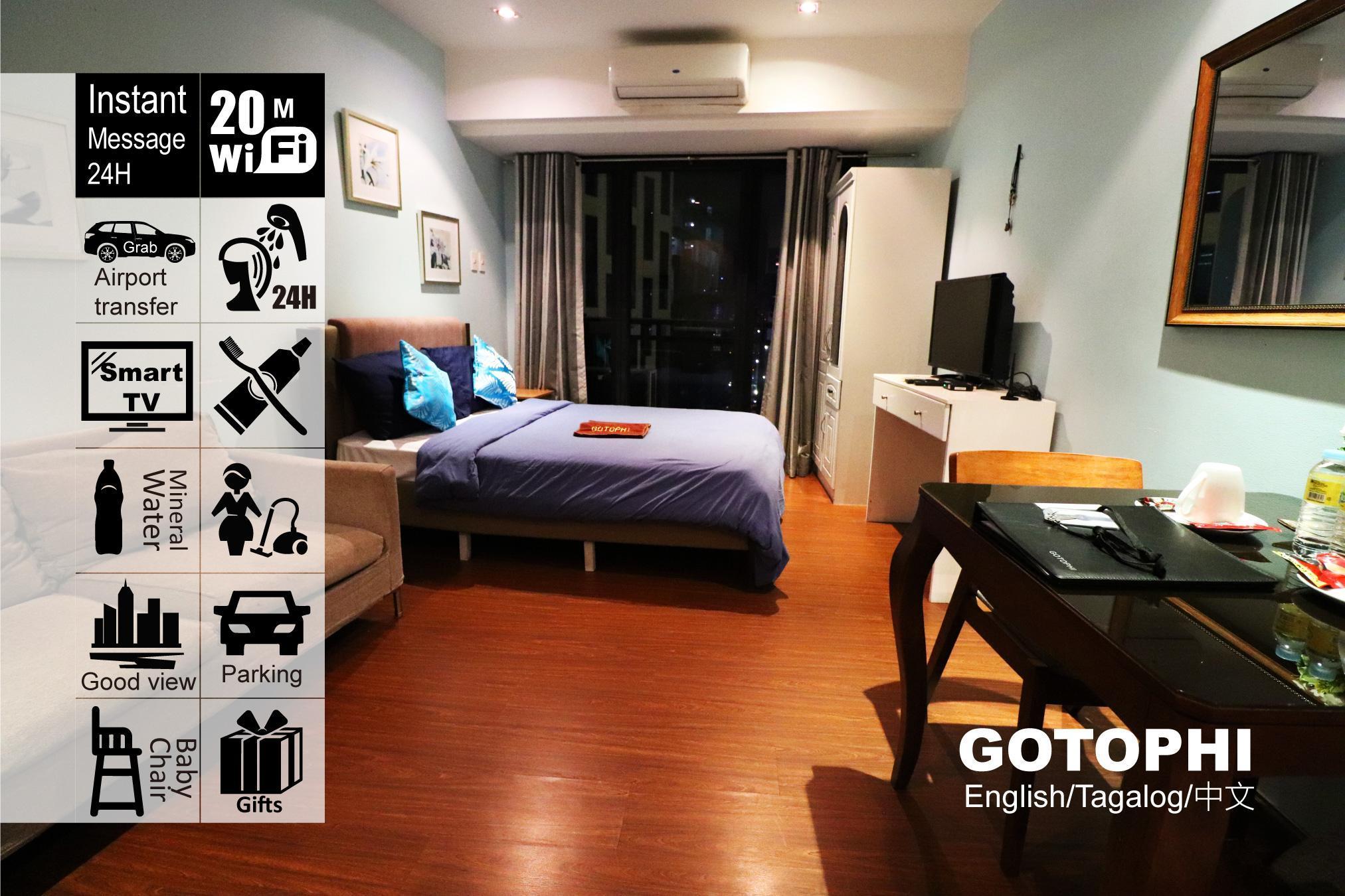 Gotophi luxurious hotel Knightsbridge Makati 3705