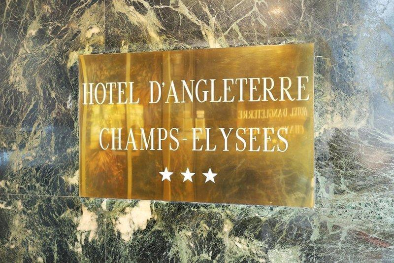 Hotel d'Angleterre Champs Elysees