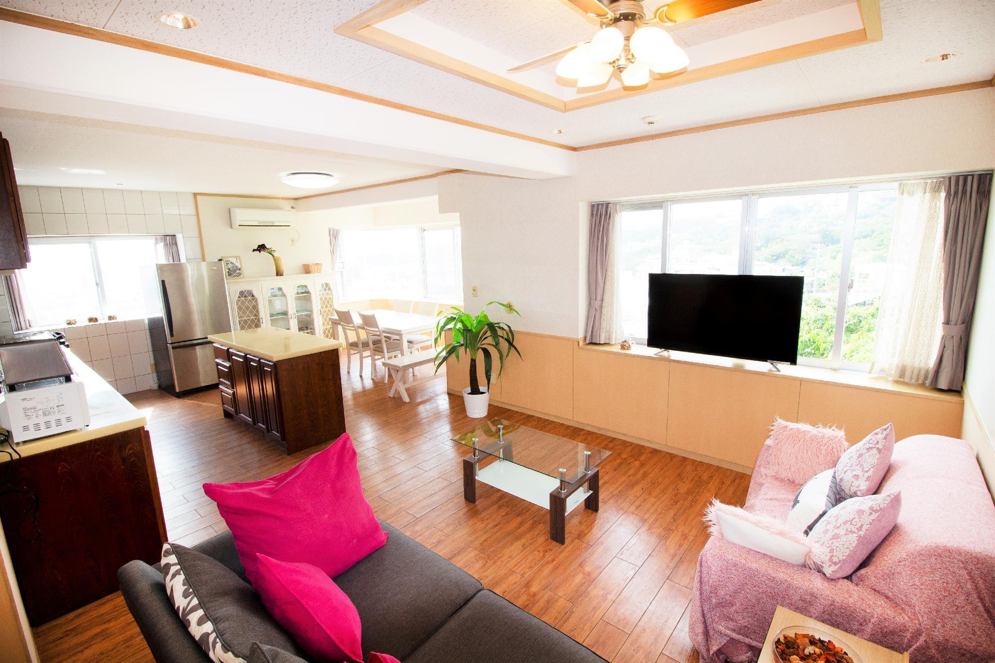 Okinawa East Coast  Comfy 2 Bed Rooms  2F 1