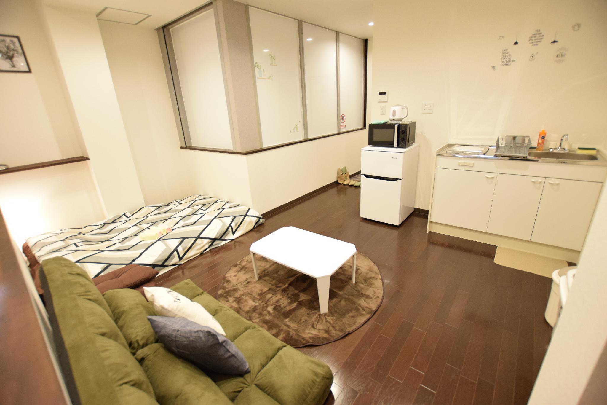 ABO 1 Bedroom Apt Near Osaka Seaside 201