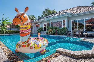 [ジョムティエンビーチ]ヴィラ(207m2)| 5ベッドルーム/5バスルーム Baan Kinaree | 5 Bed Pool Villa Jomtien Beach