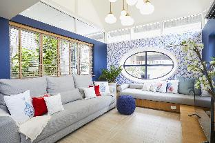 Ginger JaR - Ari, Blue and white stylish house. บ้านเดี่ยว 5 ห้องนอน 3 ห้องน้ำส่วนตัว ขนาด 210 ตร.ม. – จตุจักร